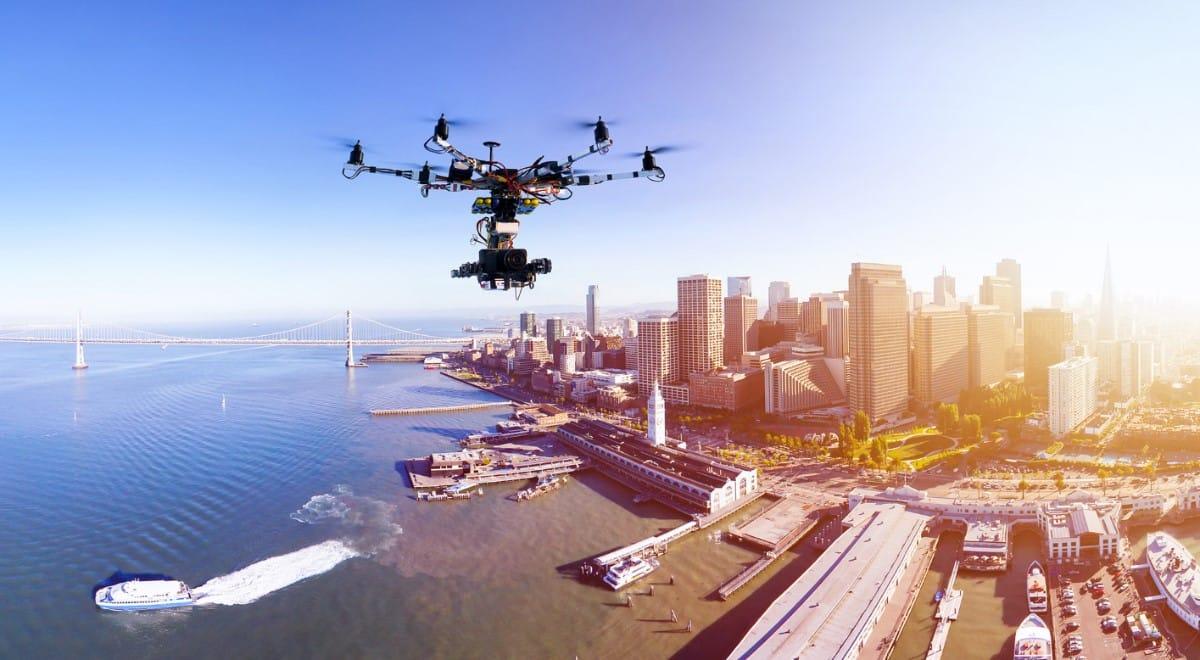 Bild Kategorie Fliegen, Drohnen